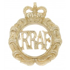Royal Rhodesia Air Force (R.R.A.F.) Anodised (Staybrite) Cap Badge
