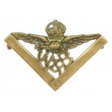 Scarce Royal Air Force (R.A.F.) Works & Building Services Collar Badge (circa 1921-29)