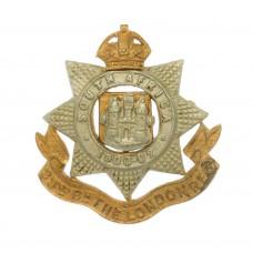 23rd Bn. London Regiment Collar Badge - King's Crown