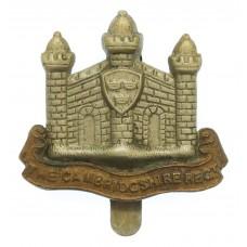Cambridgshire Regiment Cap Badge (Missing 'E' Variant)