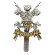 3rd Carabiniers Anodised (Staybrite) Cap Badge