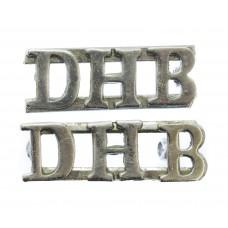 Pair of Dover Harbour Board Police (D.H.B.) Shoulder Titles