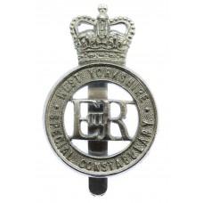 West Yorkshire Special Constabulary Cap Badge - Queen's Crown