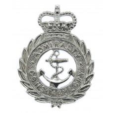 Admiralty Constabulary Cap Badge - Queen's Crown