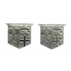 Pair of Southern Railway Police Collar Badges