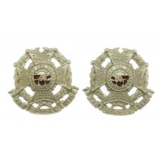 Pair of Border Regiment Collar Badges