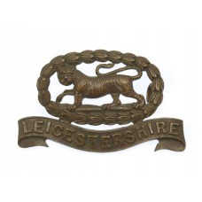 Leicestershire Regiment Officer's Service Dress Collar Badge