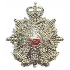 Border Regiment Anodised (Staybrite) Cap Badge