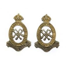 Pair of Territorial Army Nursing Service Collar Badges
