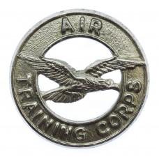 Air Training Corps (A.T.C.) Chrome Cap Badge