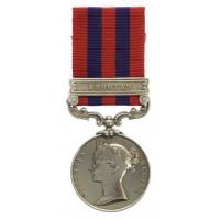 1854 India General Service Medal (Clasp - Bhootan) - Gunr. A. Kelley, 22nd Bde. Royal Artillery