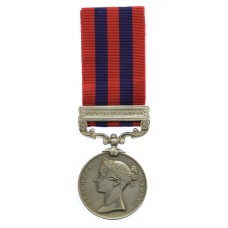 1854 India General Service Medal (Clasp - Chin-Lushai 1889-90) - Pte. J. Unsworth, 1st Bn. King's Own Scottish Borderers