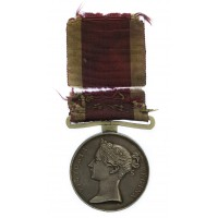 First China War Medal 1842 - John McGill, 49th (Hertfordshire) Regiment of Foot