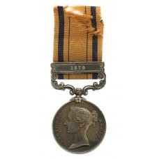 South Africa 1877-79 (Zulu War) Medal (Clasp - 1879) - Pte. J. Ro