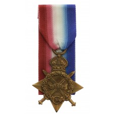 WW1 1914-15 Star - Pte. R. Godfrey, 1st Bn. King's Own Yorkshire