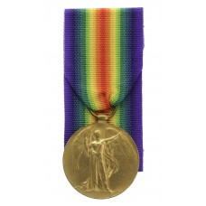 WW1 Victory Medal - Cpl. A. Scott, King's Own Yorkshire Light Inf