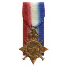 WW1 1914-15 Star - Pte. W. Sheard, King's Own Yorkshire Light Inf