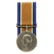 WW1 British War Medal - Pte. E. Sutton, 9thBn. King's Own Yorkshi