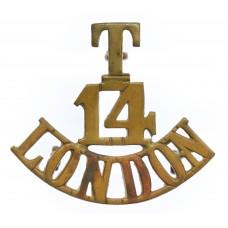 14th County of London Bn. (London Scottish) London Regiment (T/14