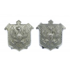 Pair of East Riding of Yorkshire Constabulary Collar Badges