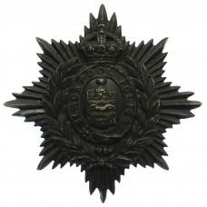 Blackpool Police Night Helmet Plate - King's Crown