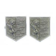 Pair of Ipswich Borough Police Collar Badges