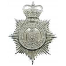 Rochdale County Borough Police Helmet Plate  - Queen's Crown
