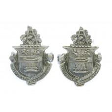 Pair of Accrington Borough Police Collar Badges
