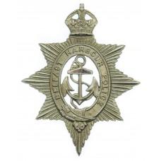 Belfast Harbour Police Cap Badge - King's Crown
