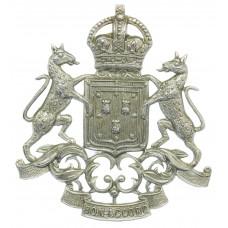 Aberdeen City Police Helmet Plate - King's Crown
