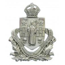 Paisley Burgh Police Cap/Collar Badge - King's Crown