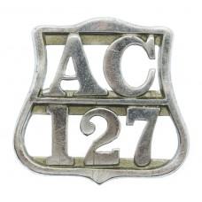 Ayrshire Constabulary Epaulette/Collar Badge