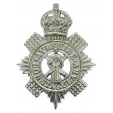 Ayrshire Constabulary Cap Badge - King's Crown