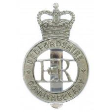 Bedfordshire Constabulary Cap Badge - Queen's Crown