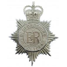 Bedfordshire Police Helmet Plate - Queen's Crown