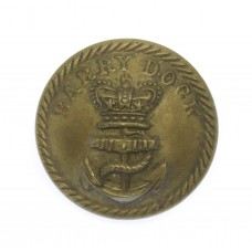 Victorian Barry Docks Police Button (25mm)