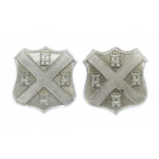 Pair of Plymouth City Police Collar Badges