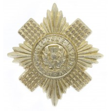 Scots Guards Anodised (Staybrite) Cap Badge