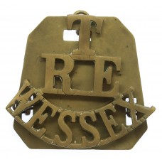 Wessex Territorials Royal Engineers (T/R.E./WESSEX) Shoulder Titl
