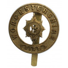 Worcestershire Regiment Pagri Badge