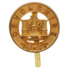 Devonshire Regiment Pagri Badge