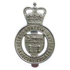 Norfolk Joint Special Constabulary Cap Badge - Queen's Crown