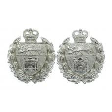 Pair of Norfolk Joint Police Collar Badges - Queen's Crown