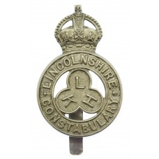 Lincolnshire Constabulary Cap Badge - King's Crown