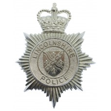 Lincolnshire Police Helmet Plate - Queen's Crown