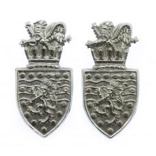 Pair of Devon & Cornwall Constabulary Collar Badges