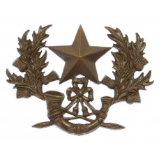 Cameronians (Scottish Rifles) Officer's 'Cheesecutter' Hat Badge