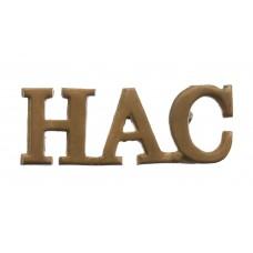Honourable Artillery Company (H.A.C.) Shoulder Title