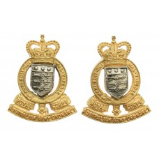 Pair of Royal Australian Army Ordnance Corps Officer's Dress Coll
