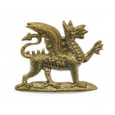 The Buffs (East Kent Regiment) Collar Badge